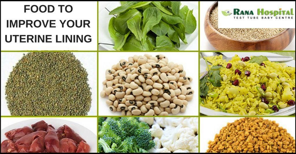 Foods which Help to Improve Your Uterine Lining |